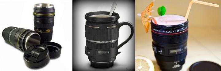 Canecas Lentes Nikon Canon